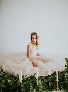 Dreamy fairy tale bride | Nadine Berns Photography