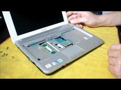 Desmontar teclado netbook SONY VAIO modelo PCG-21313M