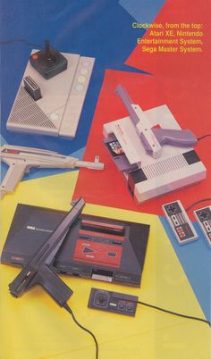 I loved these game systems:-) Good times:-)