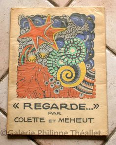 French Book Cover Design