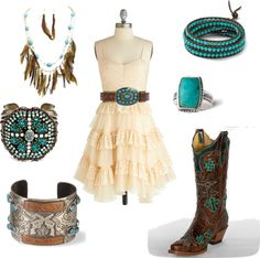 """Untitled #42"" by smalltowngirl15 on Polyvore - LOVE THIS...I would add a jean jacket though!!"
