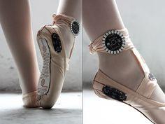 Sapatilha de Ballet rastreia os passos do dançarino