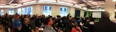 Panorama taken during our Data Visualization meetup at @Trulia