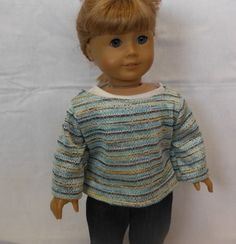 18 inch dolls fits American Girl - Sweater