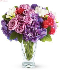 Send the Rhapsody in Purple bouquet of flowers from My Blooming Business in Los Angeles, CA. Local fresh flower delivery directly from the florist and never in a box! Mothers Day Flowers, All Flowers, Fresh Flowers, Beautiful Flowers, Send Flowers, Church Flowers, Flower Bouquets, Fresh Flower Delivery, Same Day Flower Delivery