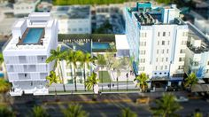 Expected to debut this fall on Ocean Drive is The Celino South Beach, a luxury boutique hotel complex led by Optimum Development USA. Hotels And Resorts, Best Hotels, Cruise Miami, South Beach Miami, Ocean Drive, Central Park, Marina Bay Sands, Beautiful World, Tours