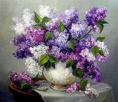 Anca Bulgaru - Arte en Flores - Óleo.