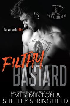 VampyreLady's Cover Reveals, Blog Tours, New Releases & All Things Bookish: Filthy Bastard Cover Reveal
