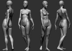anatomy exercises 112014, Rodrigo A. Branco on ArtStation at https://www.artstation.com/artwork/anatomy-exercises-2124112014