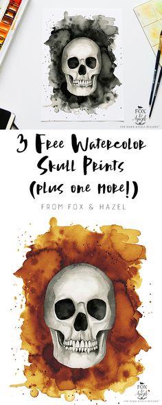 3 Free Watercolor Sk