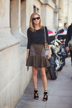 O estilo da... Marina Larroude - Claudia BartelleClaudia Bartelle