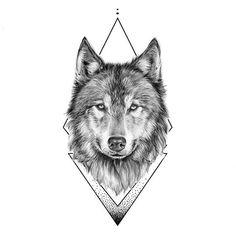 Wolf Face Tattoo, Wolf Tattoos Men, Small Wolf Tattoo, Wolf Tattoo Sleeve, Fake Tattoos, Body Art Tattoos, Small Tattoos, Tattoos For Guys, Sleeve Tattoos