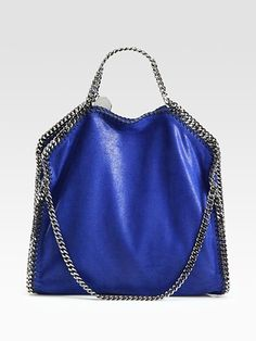 Another one of my fave colors for Spring/Summer - Cobalt Blue. Luv this Stella McCartney piece