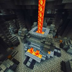 The grand forge in Binnet Dum. The grand forge in Binnet Dum. Minecraft Building Guide, Minecraft Forge, Minecraft Castle, Minecraft Medieval, Minecraft Plans, Minecraft Survival, Minecraft Tutorial, Minecraft Blueprints, Minecraft Designs