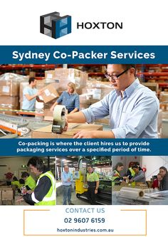 Co-packing is where the client hires us to provide Sydney Packaging services over a specified period of time #sydneyPackaging #CopackerServices