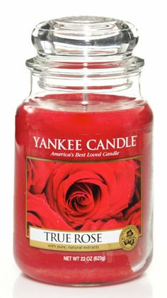 Yankee Candle Large Jar True Rose