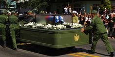 Vehicle Carrying Fidel Castro's Ashes Breaks Down During Funeral Procession