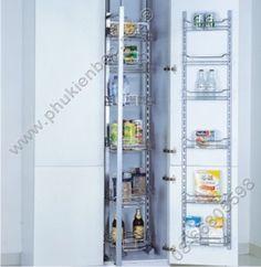 Phụ kiện tủ bếp tủ đồ khô nhiều tầng PK269