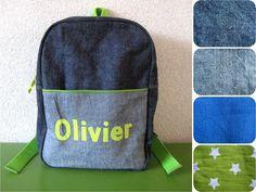 Sew Natural Blog: Jeans & Green rugzak backpack tutorial patroon pattern kids kinderen children toddler peuter