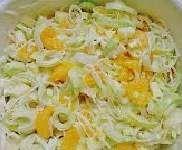 Rezept Porree-Mais-Mandarinen-Salat von tomtom1212 - Rezept der Kategorie Vorspeisen/Salate