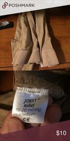 Jobst compression stockings This were a LIFESAVER when I was pregnant. Kept my varicose veins in check and made my legs feel so much better. Only used for a few months. Hand washed and ready for you! Intimates & Sleepwear