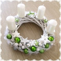 128 most beautiful and elegant designs of Christmas stiletto nails page 14 - Envoy. Christmas Advent Wreath, Christmas Tree Design, Christmas Candles, Christmas Crafts For Kids, Christmas Diy, Christmas Table Centerpieces, Christmas Arrangements, Xmas Decorations, Christmas Wonderland