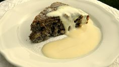 Egyszerű almás-mákos süti, vaníliasodóval