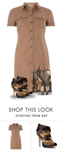 """""""Matching Camo"""" by majezy ❤ liked on Polyvore featuring mel, MICHAEL Michael Kors and Nak Armstrong"""