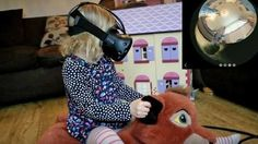 Nerdy dad uses virtual reality to let daughter ride family cat Read more Technology News Here --> http://digitaltechnologynews.com  The same dad who rigged an HTC Vive and Ricoh Theta 360-degree camera to let his daughter explore her dollhouse is at it again. This time the VR dad has cranked up the tech-meets-cute factor by introducing the family cat.   Strapping the 360-degree camera to the back of the very patient feline VR dad Toby Newman was able to give his daughter an idea of what the…