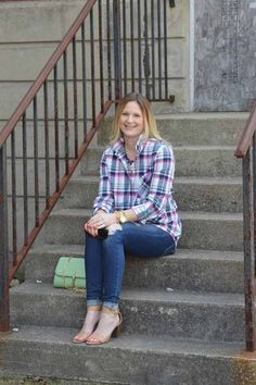 Style in a Small Town   Spring Plaid   TBC Link-Up   http://www.styleinasmalltown.com
