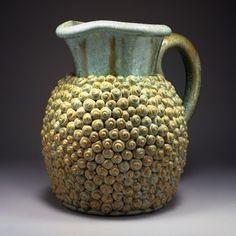 Curly Whirly Ensaimada Jug | Crystalline-glazed stoneware | Kate Malone, 2009