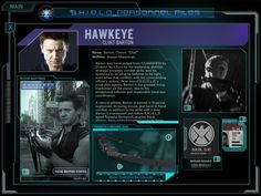 SHIELD Personnel Files - Agent Clint Barton/Hawkeye
