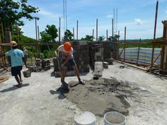 Francois Bernier was part of the building team in The Philippines helping out at our Disaster Relief Project.
