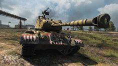 World of Tanks M46 Patton KR ADVENT CALENDAR DAY 2 American premium medi...