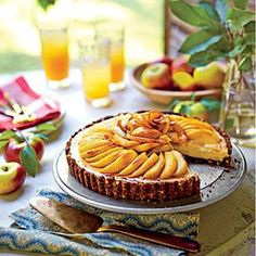 Caramel Apple Cheesecake Tart | MyRecipes.com