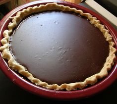 """My Grannys Cocoa Cream Pie  ~  the blogger says This oldie was my grannys she made the best pies! Its simple and tasty. This really was a simple desert often used during the 30s and 40s."""