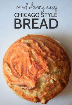Chicago Bread - aka pizza but easier