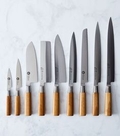 (chef knife and/or santoku knife)