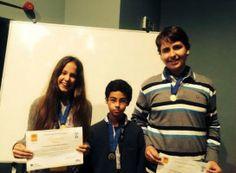 Alunos da Flávio Gonçalves conquistam medalha de ouro em concurso de Química