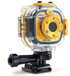 VTech Kidizoom Action Cam, Yellow/Black Kids camera is durable, versatile and able to capture the most memorable moments; action cam is a waterproof camera meant for mounts attach the kids di… Best Christmas Gifts, Christmas Fun, Xmas, Christmas Presents, Holiday Gifts, Holiday Ideas, Kids Digital Camera, Time Lapse Photo, 6 Year Old Boy