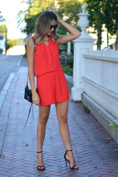 collective concept red comper, rebecca minkoff mini mac, zara heeled sandals: allie wears - a boston based personal style blog Summer Wear, Spring Summer Fashion, Style Blog, My Style, Zara Heels, Macs, Heeled Sandals, Fall Winter Outfits, Everyday Look
