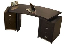 Bali Modern Curved Desk  $805.00  www.bellamaifurniture.com