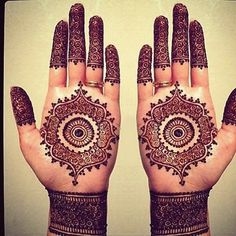 simple traditiona hand henna - Google Search