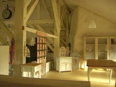 Sara Lechner (fiber artist) studio space