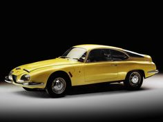 fuckyeahconceptcarz: 1962 Alfa Romeo SZ 2600 Prototipo (106) (Zagato)