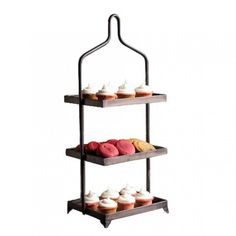 Tiered Metal Display