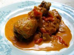 Poulet Au Paprika from CookingChannelTV.com