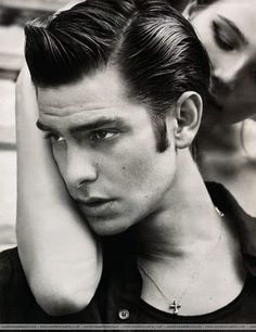 Andrew, 50's greaser style. Someone should make him for United!