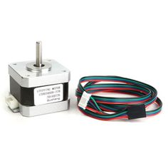 Printer High Torque 17 Stepper Motor 42 x 42 x current (single-phase): DCRated voltage: rating: angle: °Static torque: (I = E Book Reader, Arduino, Best 3d Printer, 3d Printer Parts, Gadgets, Multifunction Printer, Phase 4, 3d Printer Supplies, Timing Belt