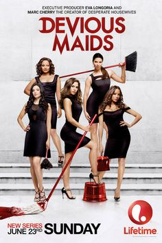 """so happy """"Devious Maids"""" was picked up for Season 2.....  I love these women they are so much fun and are so fantastic to be around....  YAYYY!"""